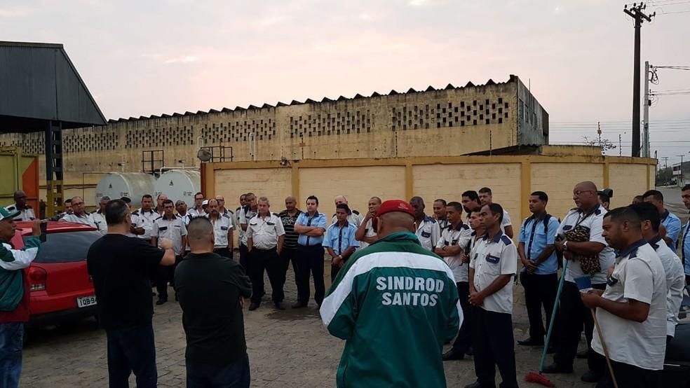 165ea70b7 ... Motoristas do transporte público de Itanhaém (SP) entram em greve —  Foto  Divulgação