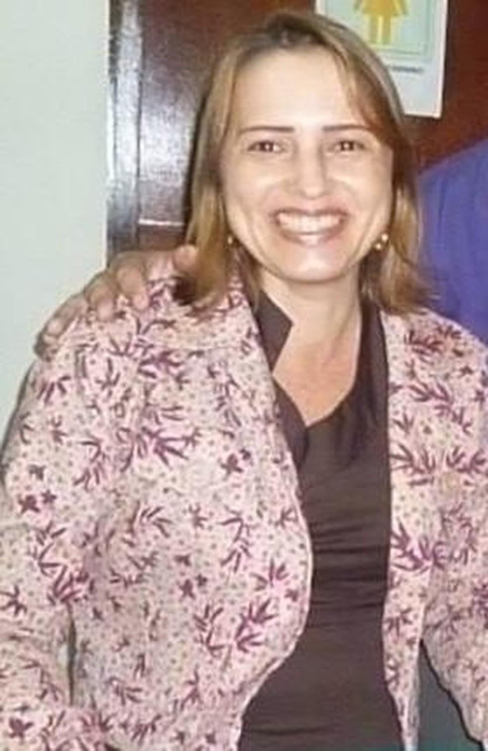 Rosangela Albernaz estava na igreja em Paracatu quando foi morta — Foto: Redes Sociais