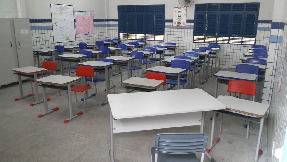 Retorno gradativo das aulas presenciais do ensino médio continua — Foto: Antônio Vieira/TV Cabo Branco