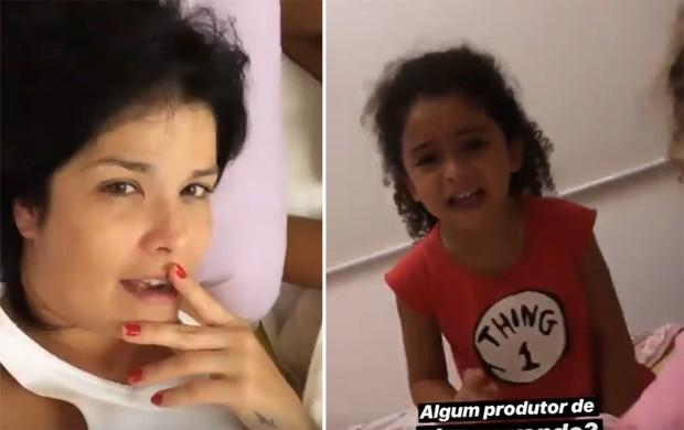 Samara Felippo e Lara (Foto: Reprodução/Instagram)