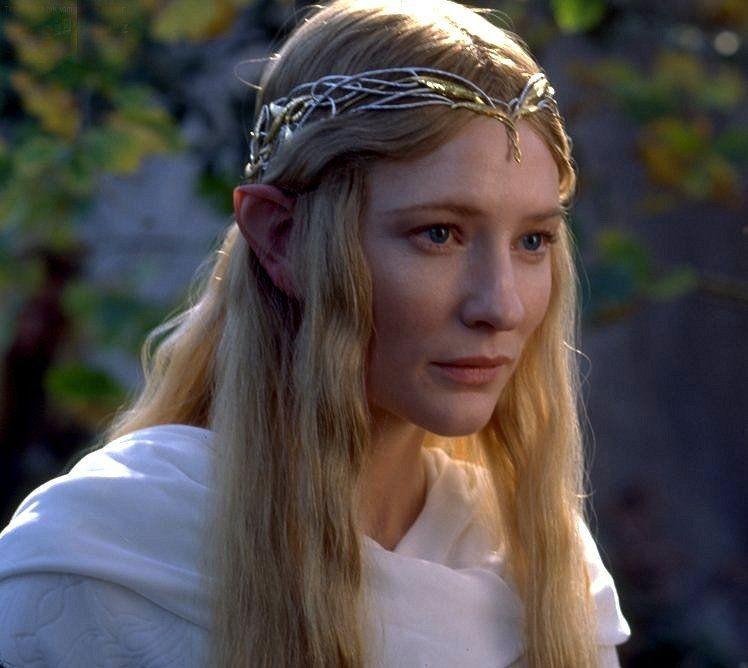 Cate Blanchett em O Senhor dos Anéis (Foto: Dilvulgação)