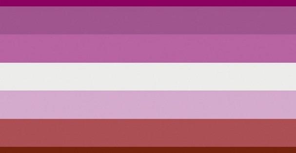 Bandeira Lésbica (Foto: Google Imagens)