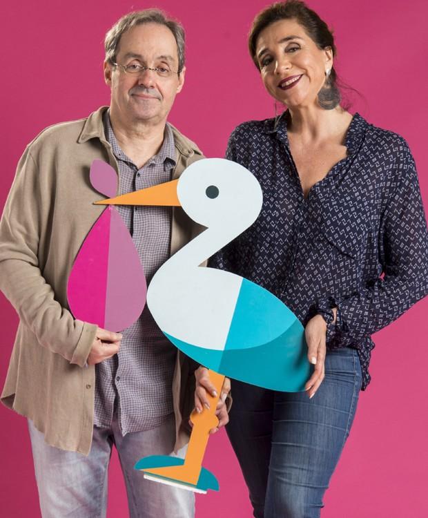 Daniel Dantas e Marisa Orth (Foto: Estevam Avellar/TV Globo)