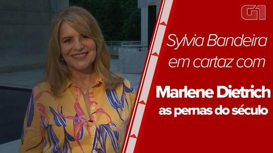 """Sylvia Bandeira volta ao Rio com """"Marlene Dietrich - As pernas do século"""""""