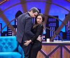 Selton Mello e Tatá Werneck gravam 'Lady night' | Juliana Coutinho / Divulgação