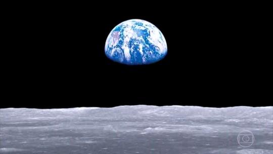Americanos comemoram os 50 anos da primeira vez do homem na Lua