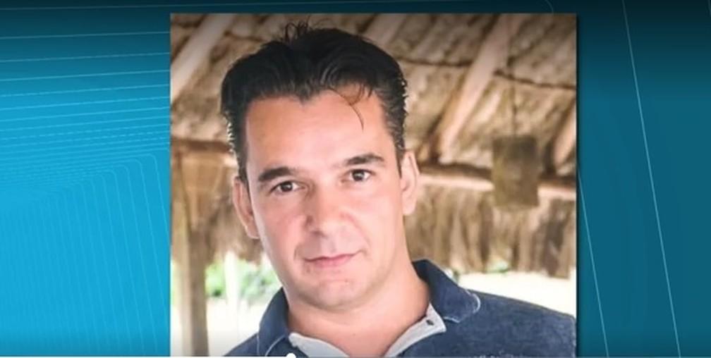 Marcio Cantoni estava foragido da polícia  — Foto: Reprodução/RPC