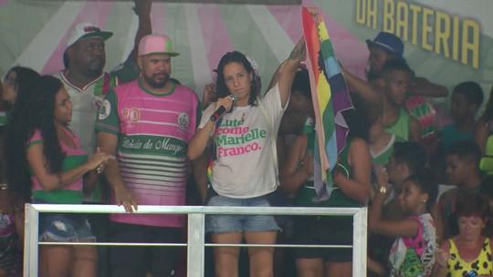 Viúva de Marielle Franco afirma que vitória da Mangueira diz que vidas dos povos negro e LGBT importam