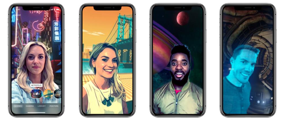 iPhone X tem animações em 260 graus (Foto: Divulgação / Apple)