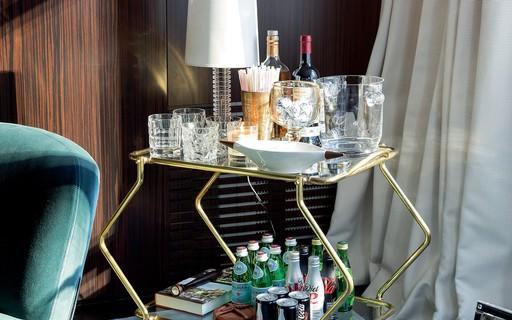 Home bar: como montar um ambiente harmônico, versátil e funcional