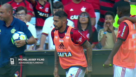 Advogado do Flamengo diz que Guerrero está liberado para jogar pelo clube