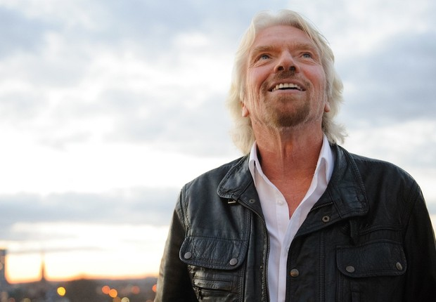 O empreendedor britânico Richard Branson (Foto: Frazer Harrison/Getty Images)
