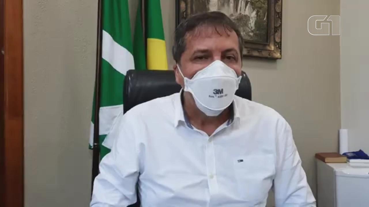 Prefeito anuncia medidas restritivas de combate à Covid-19, em Foz do Iguaçu