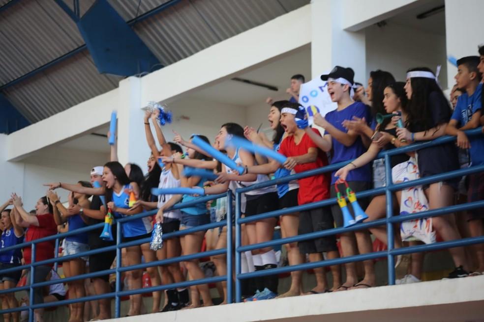 JEMs é tradicional disputa do esporte maranhense e movimenta torcidas das escolas — Foto: SEDEL/Divulgação