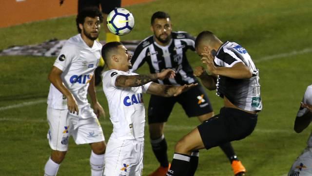 Ceará x Santos
