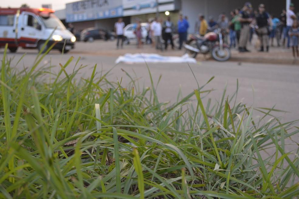 Vítima morreu no fim da tarde desta quarta, 1 (Foto: Diêgo Holanda/G1)
