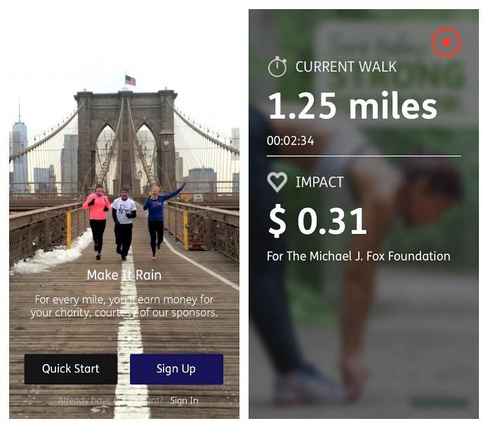 Charity Miles une o minitoramento de atividades físicas com filantropia (Foto: Divulgação)