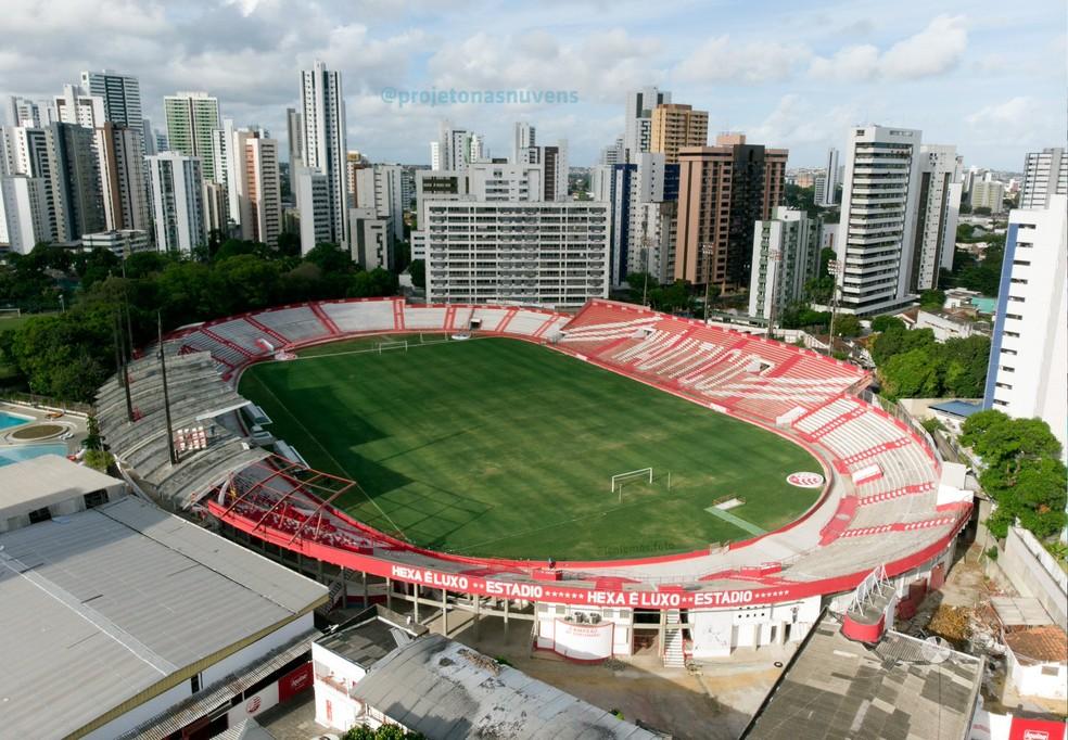 Aflitos foi reformado pela nova gestão — Foto: Divulgação/CNC