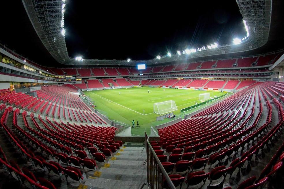 Arena de Pernambuco fica em São Lourenço da Mata (Foto: Marlon Costa/Pernambuco Press)