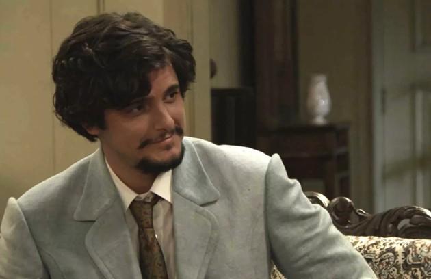 Uirapuru (Bruno Gissoni) não conseguirá transar com uma mulher e culpará Josephine (Christine Fernandes): 'Maldita! Por que foi me rogar logo essa praga?' (Foto: TV Globo)