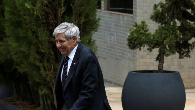 General Heleno chegou a ser cotado a vice; deve assumir o Ministério da Defesa (Foto: Reuters via BBC)