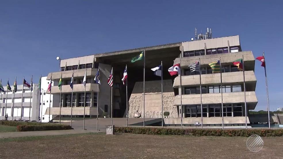Assembleia Legislativa da Bahia — Foto: Reprodução/TV Bahia