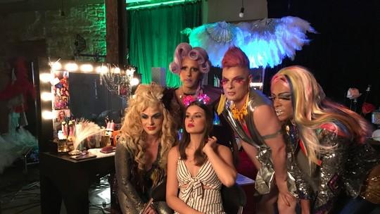 Luíza e drags do Klub Strass se preparam para celebrar a diversidade em 'Pega Pega'