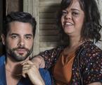 'O outro lado do paraíso': Amaro (Pedro Carvalho) e Estela (Juliana Caldas) | Globo/Estevam Avellar