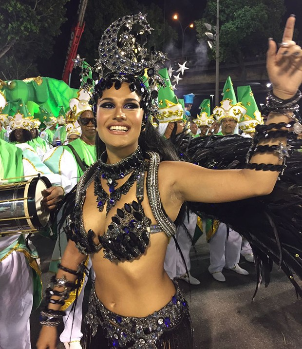 Larissa Nicolau (Foto: Ed. Globo)
