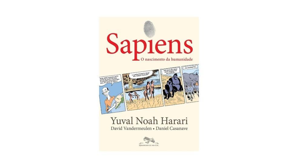 Sapiens tem roteiro do belga David Vandermeulen e arte do francês Daniel Casanave (Foto: Divulgação/Amazon)