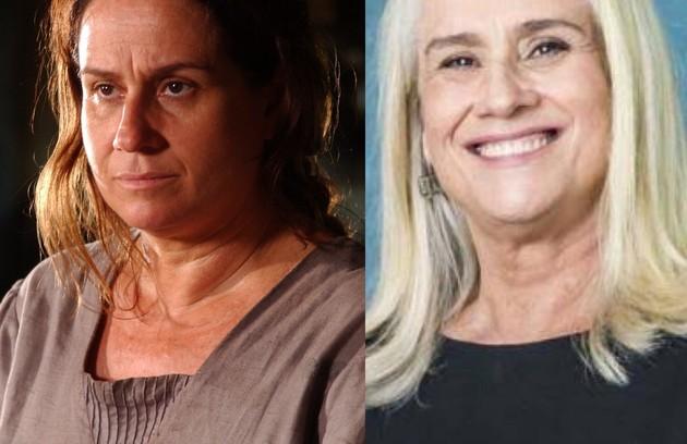 """Vera Holtz interpretou Generosa, mulher que sofre com o gênio explosivo do marido. A atriz deixou recentemente o elenco de """"Nos tempos do Imperador"""", como medido de precaução por conta da Covid-19 (Foto: TV Globo)"""