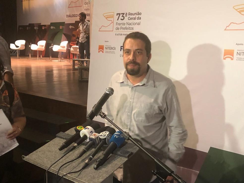 Guilherme Boulos (Foto: Matheus Rodrigues/G1)