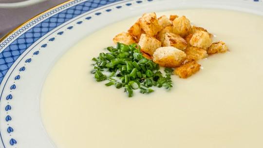 Parmentier: Sopa de Batata