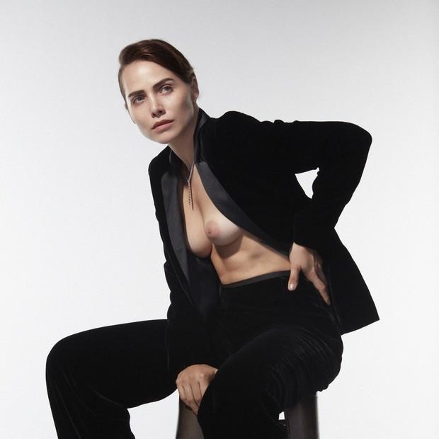 Leticia Colin: feminista, la actriz dice & quot; veo a mi cuerpo como una herramienta de lucha & quot;  (Foto: Bruna Castanheira / GROUPART)