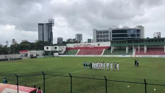 """Técnico do Santos lamenta W.O. do Figueirense no sub-23: """"Não levamos como vitória"""""""