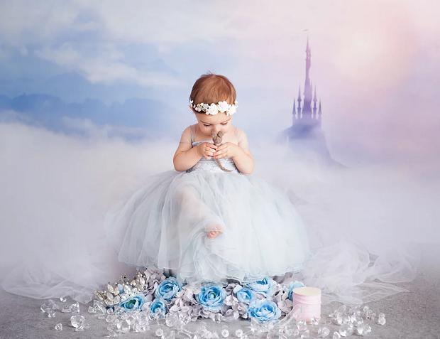 Cinderela com 1 ano de idade (Foto: Karen Marie)