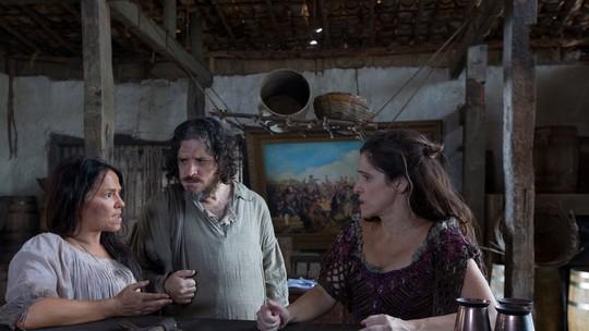 Guilherme Piva mostra bastidor de cena de 'Novo Mundo'; vídeo