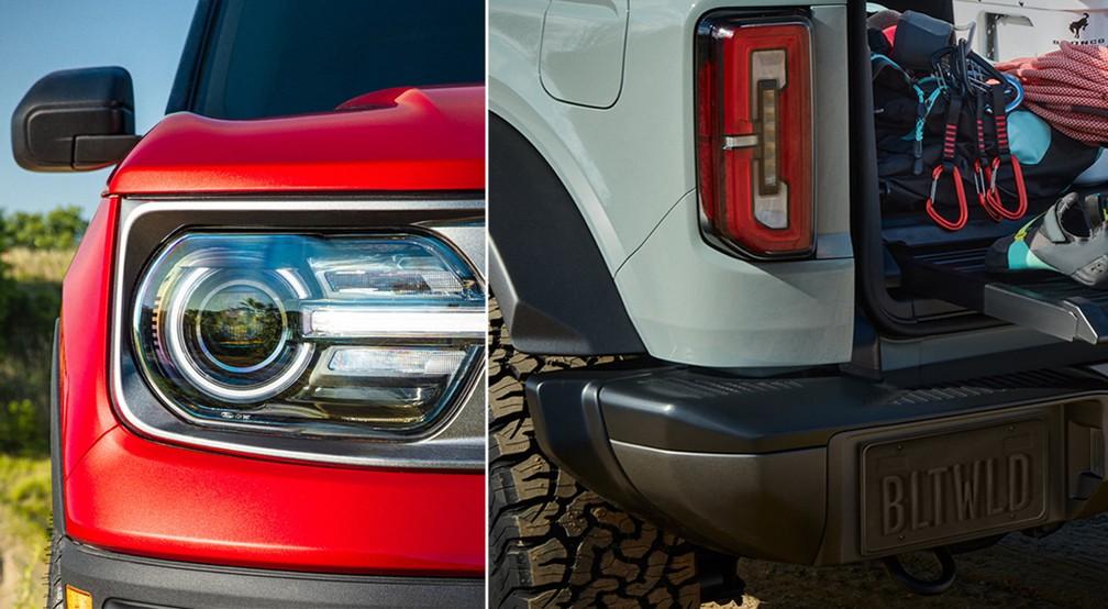 Ford Bronco teve imagens reveladas neste sábado (11) — Foto: Divulgação