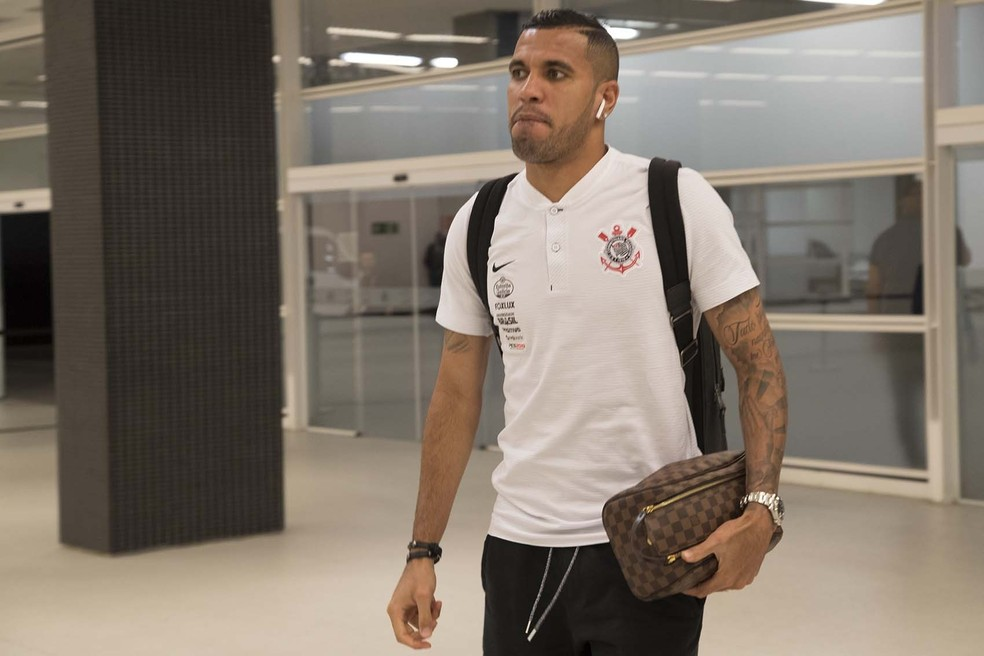 Jonathas teve passagem apagada pelo Corinthians em 2018 — Foto: Daniel Augusto Jr/Ag.Corinthians