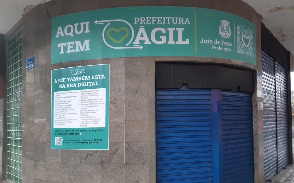 Posto Prefeitura Agil — Foto: Prefeitura de Juiz de Fora/ Divulgação