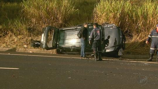 Colisão frontal deixa dois motoristas feridos em Santa Cruz da Esperança, SP