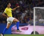 Imagem da partida entre Brasil e França | FRANCK FIFE / AFP