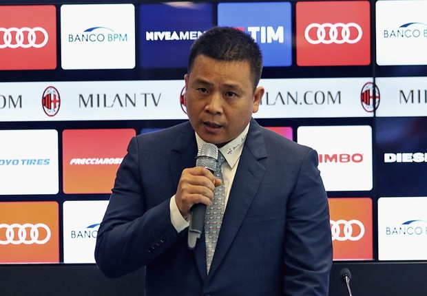 Yonghong Li, proprietário do Milan (Foto: Getty Images)