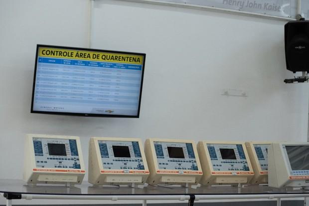 Técnicos da GM atuam no conserto de respiradores (Foto: Divulgação)
