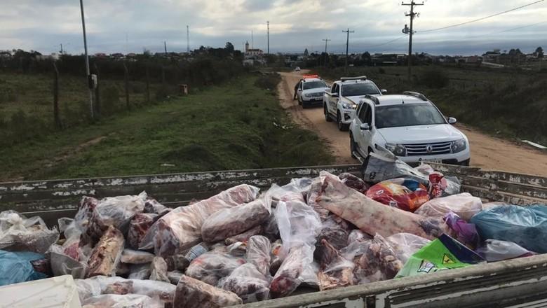 Operação contra abigeato no RS (Foto:  Leandro Centeno/Seapdr/Divulgação)