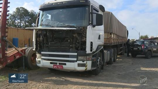Dois são presos por suspeita de receptação de 49,5 toneladas de açúcar em Capivari