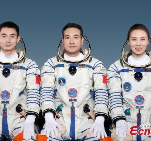 China envia astronautas para missão espacial tripulada mais longa do país