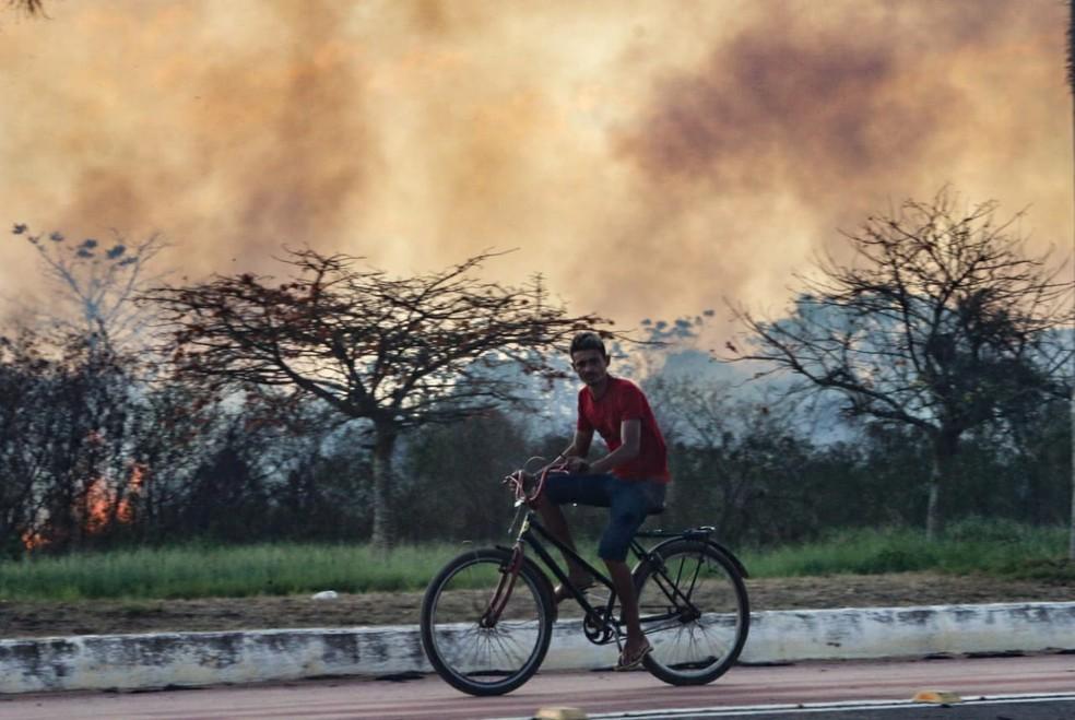Os municípios de Bujari, Capixaba, Acrelândia, Rodrigues Alves e Rio Branco registraram o maior número de focos  — Foto: Juan Diaz/Arquivo pessoal