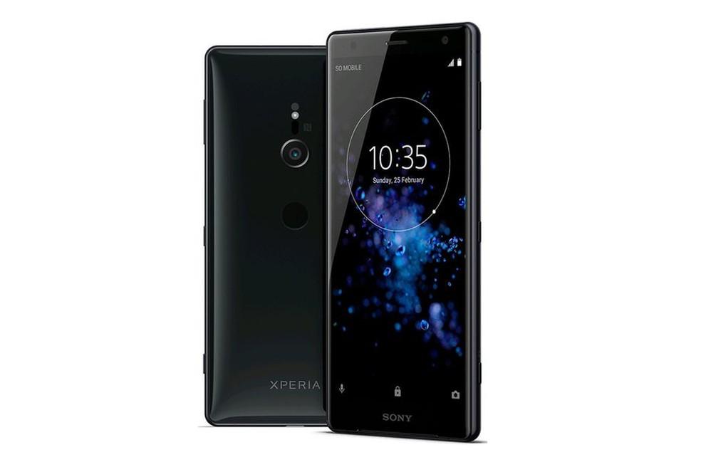 Xperia XZ2 Compact e XZ2, novos smartphones da Sony. (Foto: Divulgação/Sony)