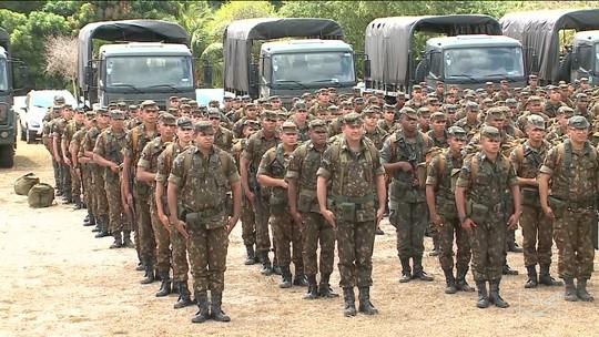 Exército e Polícia Federal começam a viajar para cidades do Maranhão para as eleições